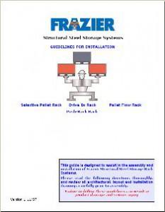 Frazier's standard installation manual