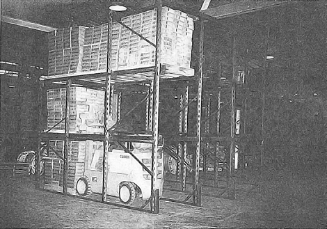 First Commercial Drive-In Rack System