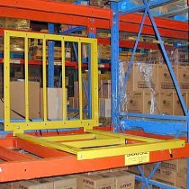 Glide 'N Pick® Pallet Rack Cart