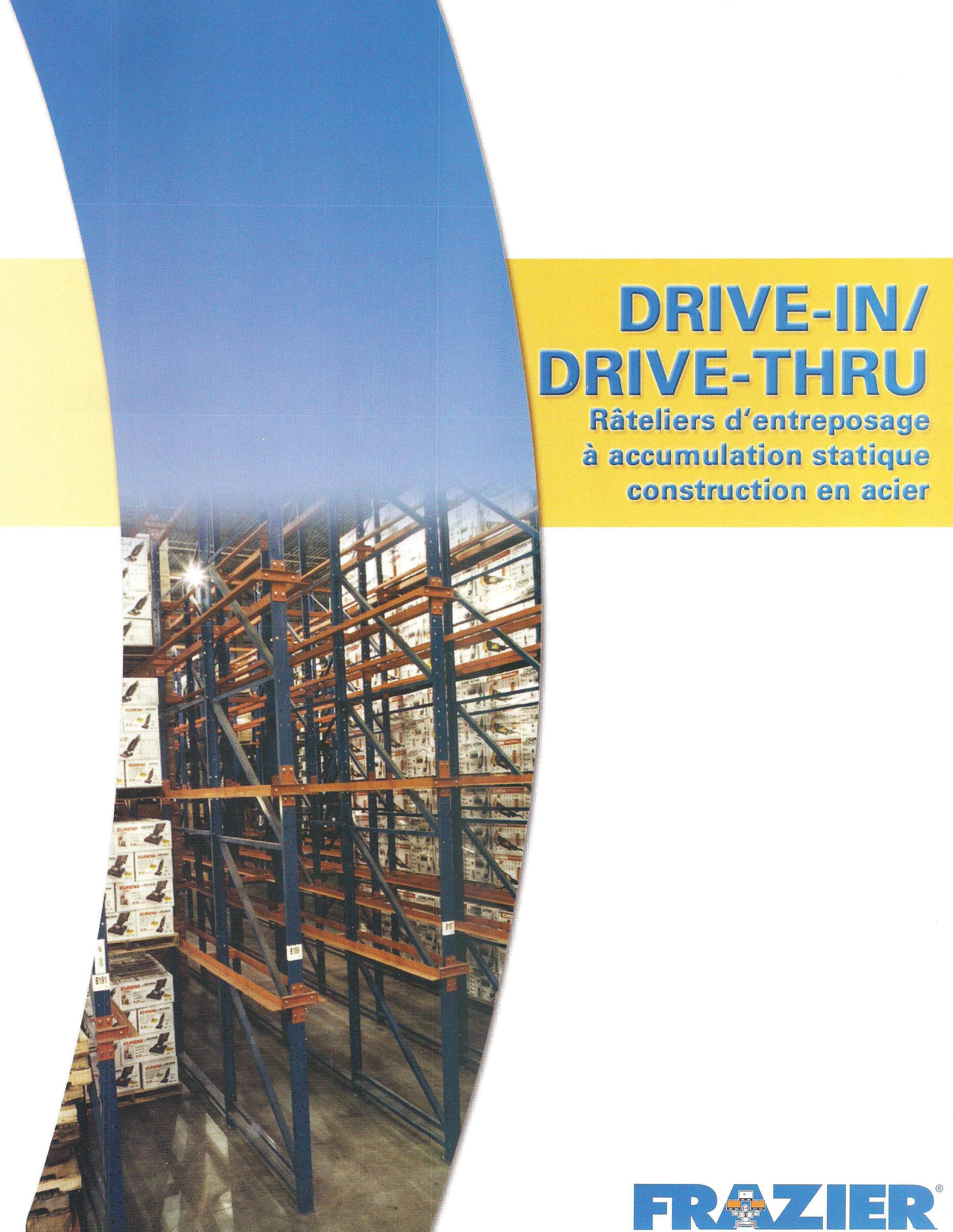 Drive-In Francais Brochure
